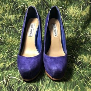 Steve Madden Sarrina Purple heels
